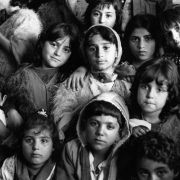 Kurdish Children at Diyarbakir Refugee Camp, Turkey