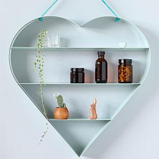 BRIDE heart shelf mint $290.00 - kidostore.com