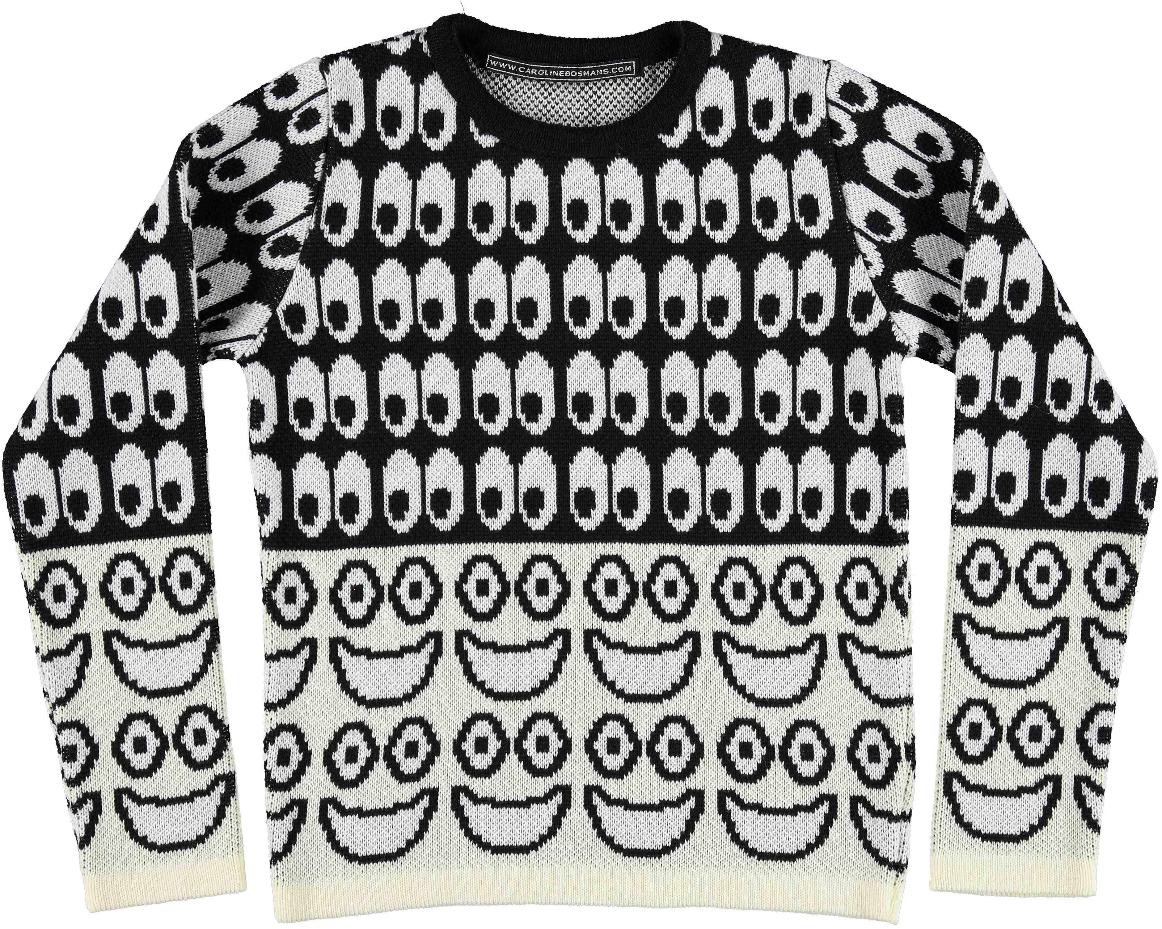 Caroline Bosmans Tragic Error Knit Sweater RRP: $172 -http://www.minismalls.com