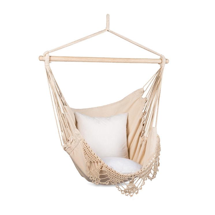 macrame hanging hammock chair