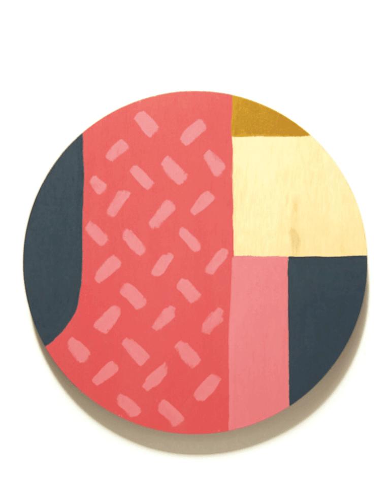 Printspace Wooden Art - Evie Colour Wheel - $115 - backstreetshopper.com.au