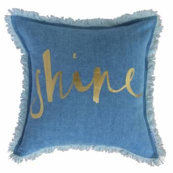 Denim Cushion - $89.00 - bowerhouse.com.au