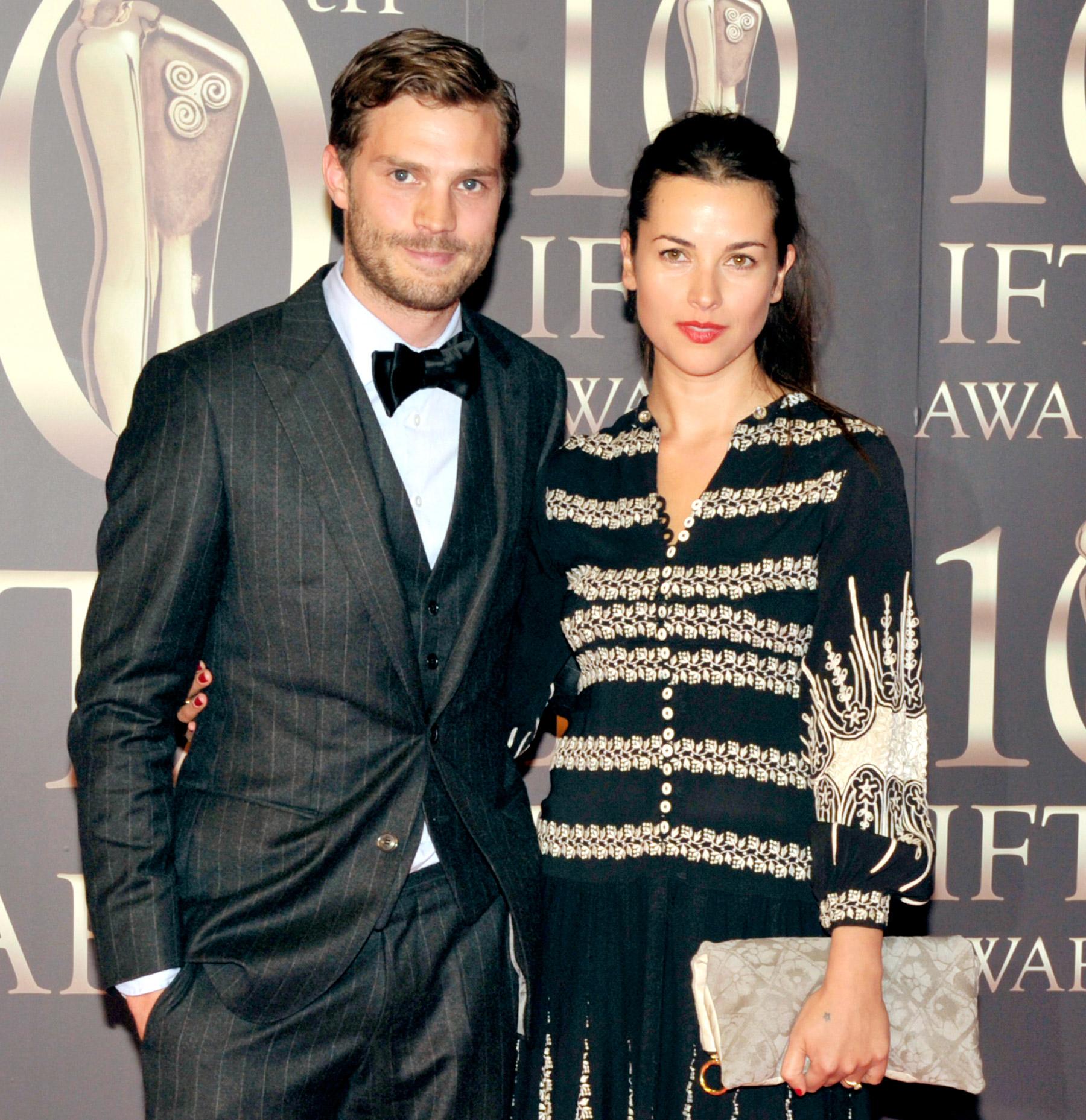 Jamie Dornan and wife, Amelia Warner