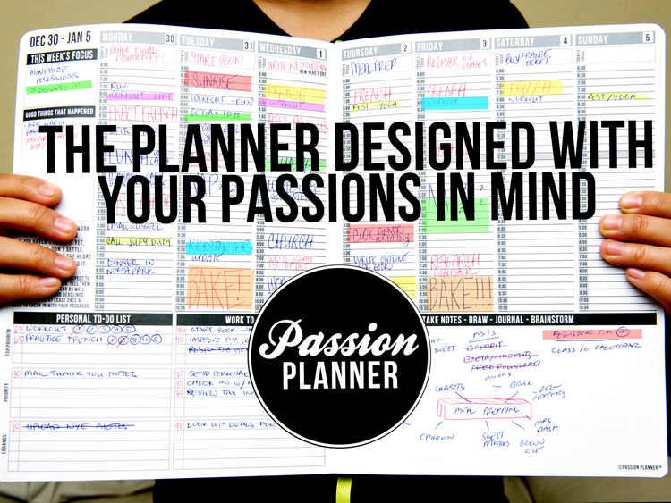 Passion Planner - 30-40.00 - passionplanner.com